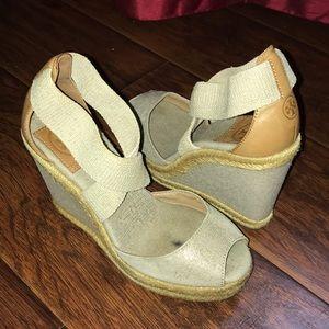 Tory Burch Natalya Wedge Sandal 5.5